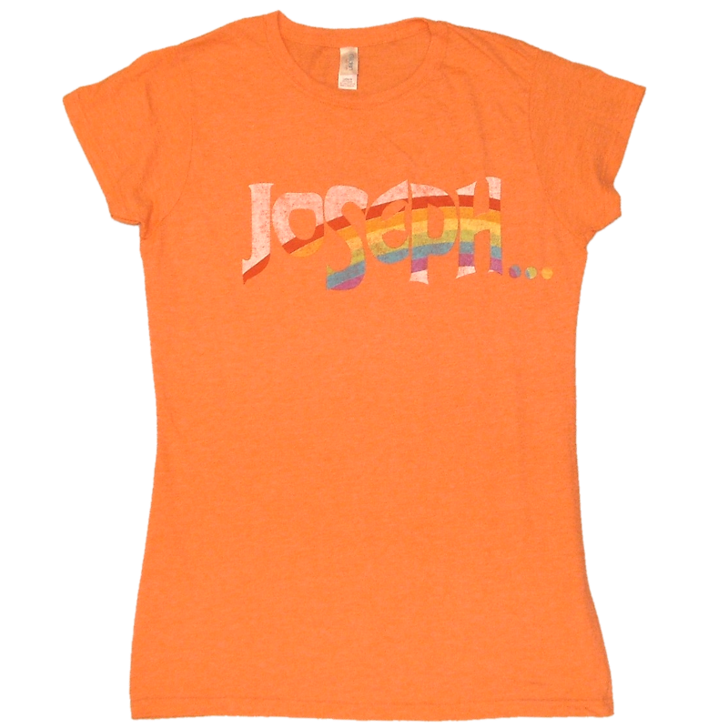 Joseph Ladies Heather Orange Tee- Customizable