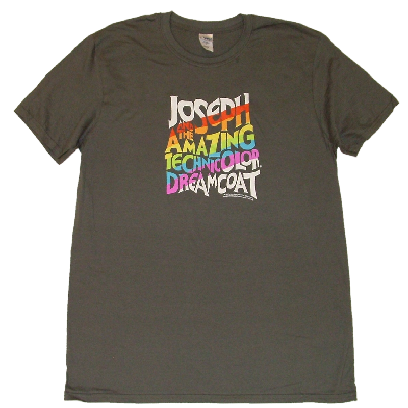 Joseph Unisex Charcoal Logo Tee- Customizable