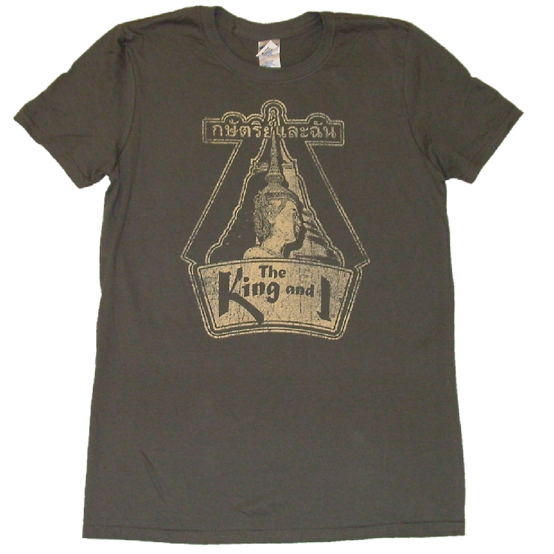 King and I Unisex Charcoal Tee- Customizable