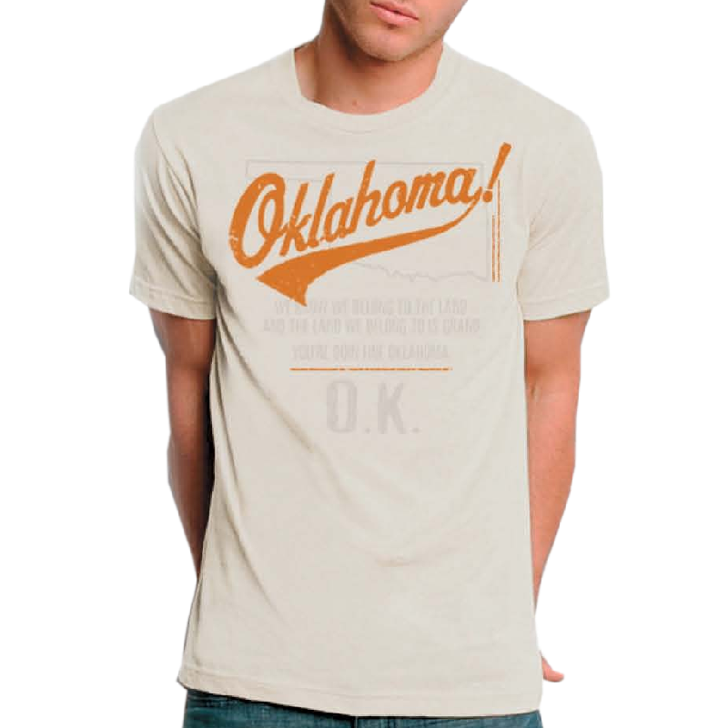 Oklahoma Unisex Natural Tee- Customizable