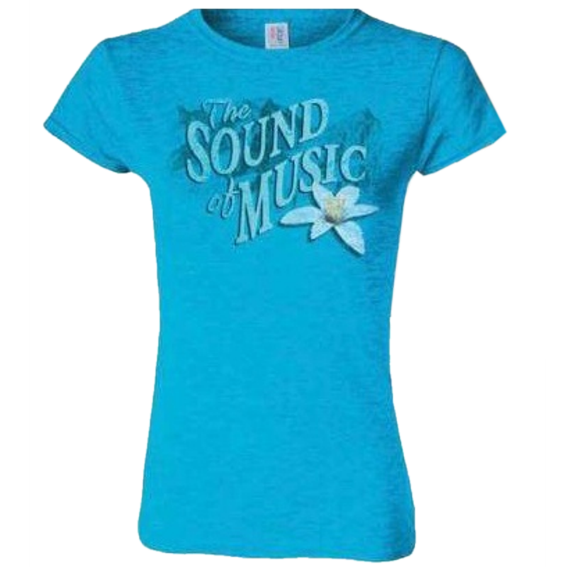 Sound of Music Ladies Sapphire Tee- Customizable