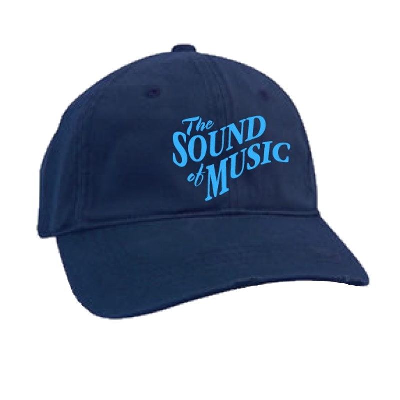 Sound of Music Distressed Navy Ballcap