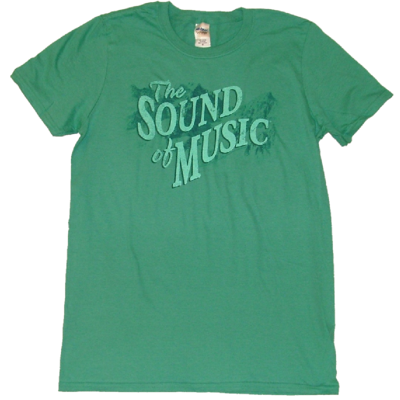 Sound of Music Unisex Scrub Green Tee - Customizable
