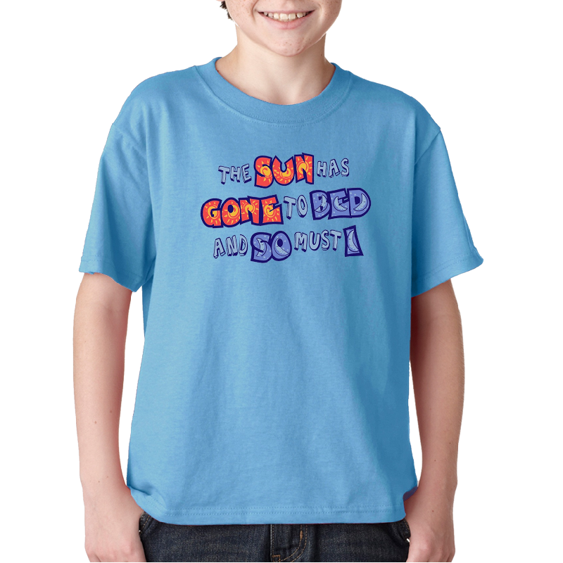 Sound of Music YOUTH Carolina Blue Tee- Customizable