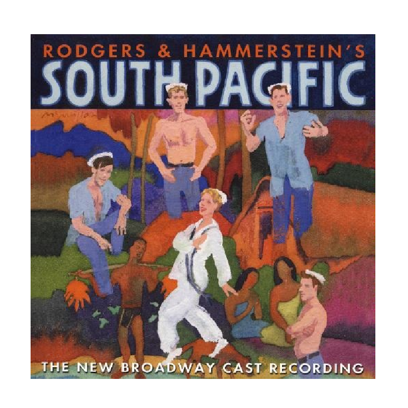 South Pacific CD- The New Broadway Cast Recording