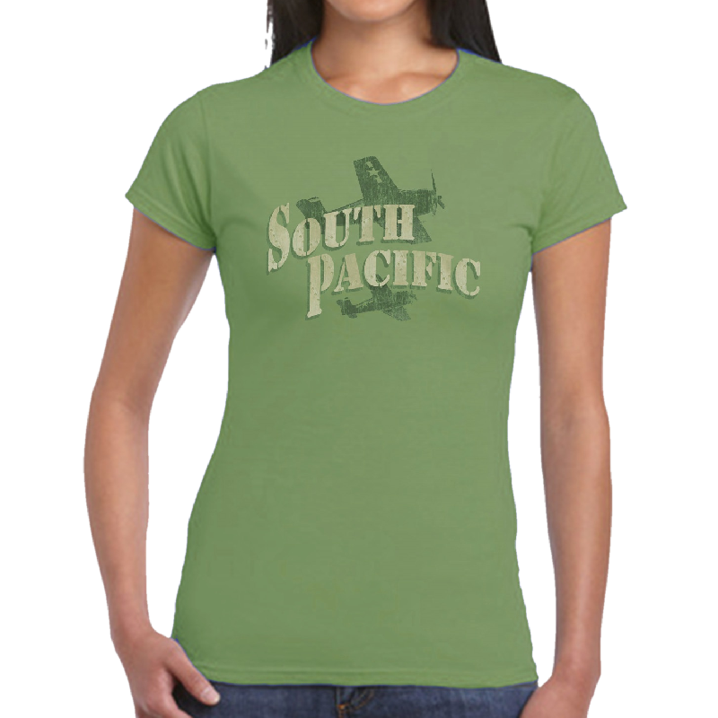 South Pacific Ladies Kiwi Tee - Customizable